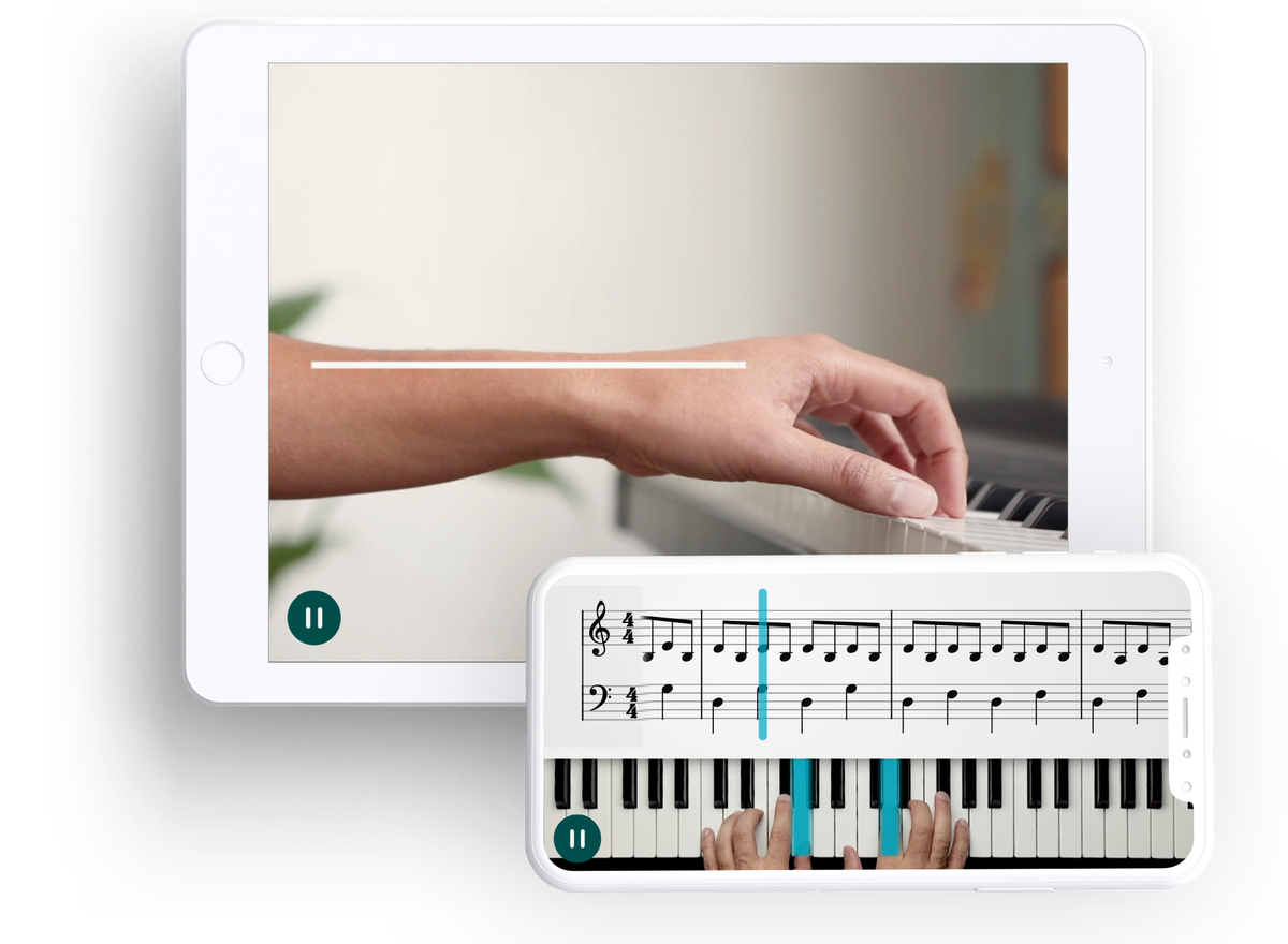 Online piano lessons - Learn piano your way